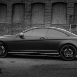 Satin Black Mercedes CL63 AMG Coupe