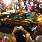 Flo-Rida's Gold Chrome Bugatti Veyron